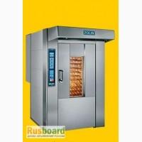 Ротационные печи газовые и электрические, для хлеба и кондитерки POLIN