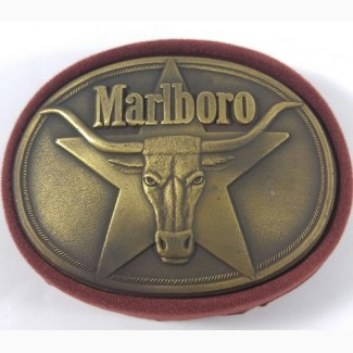 Пряжка для ремня Marlboro Longhorn Buckle