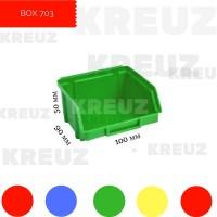 Пластиковый маленький ящик для резиночек, болтиков и гаечек