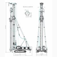 Гидравлические буровые установки SWSD2512/SWSD3618
