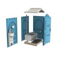 Новая туалетная кабина Ecostyle - экономьте деньги