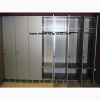 Шкафы для раздевалок, спортзалов, рабочих