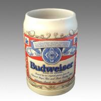 Кружка пивная керамическая Budweiser Collector