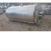 Танк-охладитель, объем - 6 куб.м., с мешалкой