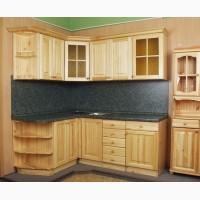 Кухни из дерева, ЛДСП, МДФ, пластика и с эффектом старения