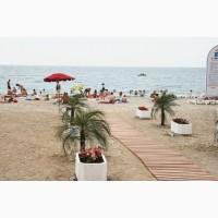 Деревянные пляжные дорожки