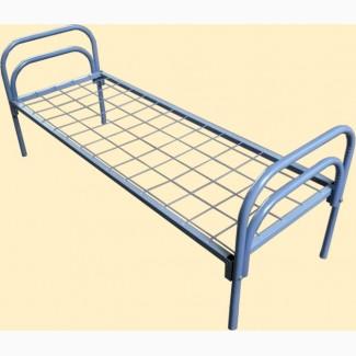 Кровати одноярусные, кровати для бытовок, кровати металлические для госпиталей
