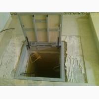 Люк невидимка в подвал под плитку напольный