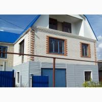 Продается недостроенный дом, в двух уровнях с крышей мансардного типа