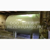 Емкость (резервуар) горизонтальная стальная 25 м3