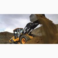 Земляные работы - рытье котлованов - нерудные материалы
