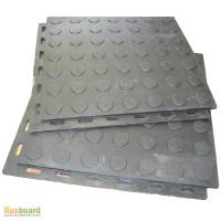 Напольное покрытие для гаража из быстро сборной резиновой плитки
