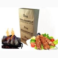 Бумажные мешки для древесного угля. 1, 5 кг, 2 кг, 2, 5 кг, 3 кг, 5 кг, 10 кг. Доставка