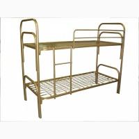 Кровати одноярусные, кровати металлические для гостиницы, кровати для рабочих, кровати