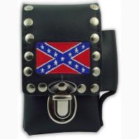 Сигаретный чехол Rebel Confederate Flag Biker Style