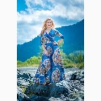 Авторские платья и платки от бренда Елена Карлова