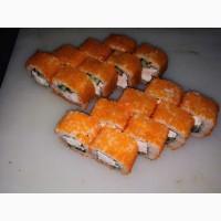 Масаго-икра мойвы крашеная для суши и ролов дешево