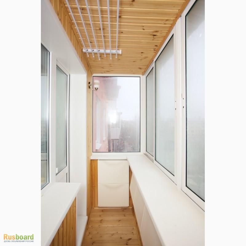 Изготовление алюминиевых балконов.