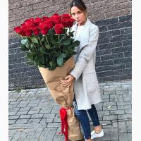Длинные(высокие) розы:100, 150, 170 см, 2 метра