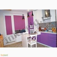 Рулонные шторы на кухню, рабочее место хранительниц очага