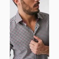 Рубашка мужская в клетку в Иваново