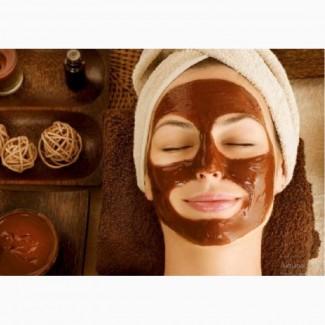 Омолаживающая альгинатная маска с какао для лица