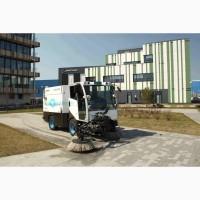 Вакуумная уборочная машина с автономным электроприводом