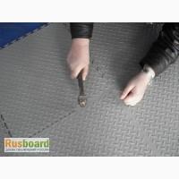 Плитка для самостоятельной сборки пола в гараже пластиковое покрытие ПВХ Унипол