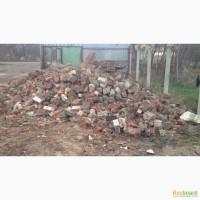 Бой кирпича строй-мусор с доставкой по г. Краснодару