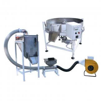 Оборудование для жарки семян подсолнечника, орехов, сои. Линия для жарки