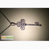 Золотая подвеска/кулон Ключ TiffanyCo Тиффани арт. 150216-08