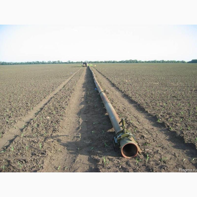 Фото 17. Сборный трубопровод для полива ПМТ-150, ПМТП-150