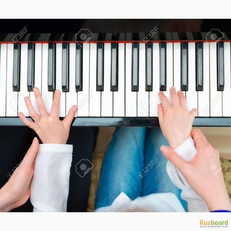 как учить дошколят играться на пианино