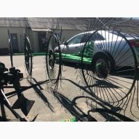 Грабли-ворошилки Agrolead 4х колесные