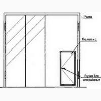 Ворота складчатые ВРС 42х42-УХЛ1, серия 1.435.2-28