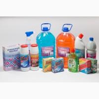 Чистящие, моющие, дез средства средства и пр. Собственное производство