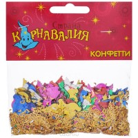 Упаковщик новогодних конфетти