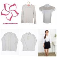 Блузы и водолазки для школы по специальным ценам