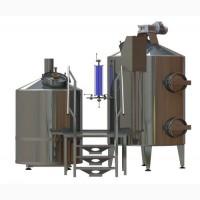 Мини пивоварня, варочный порядок 1000л
