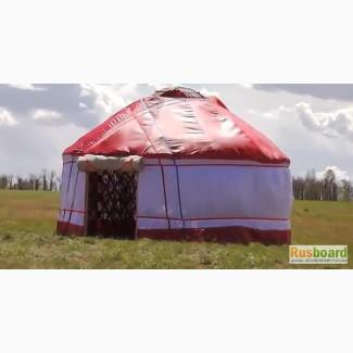 Юрта вместо палатки для активного отдыха, рыбалки, охоты