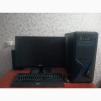 Продам компьютер мощный игровой плюс монитор, клавиатура, мышь