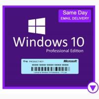 Оригинальная лицензия windows 10 pro