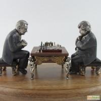 Статуэтка-шахматисты в подарок