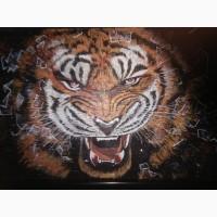 Картины выполненные каменной крошкой светящиеся в темноте в технике 3Д
