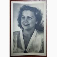 Открытка Л. Целиковская СССР 1954 г. (Оригинал)