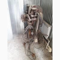 Продам б/у станок для изготовления черенков на лопаты и вилы