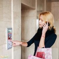 Реклама на кнопке лифта» - франшиза уникальной запатентованной indoor-площадки