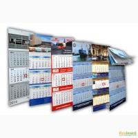Квартальные календари на заказ