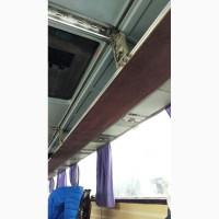 Перетяжка салона атобусов