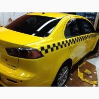 Оклейка автомобилей такси